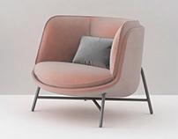 MOON - Armchair for Domitalia