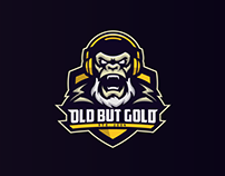 Old But Gold | Mascot Logo Design