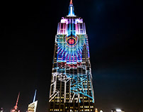 CNN Election Night: Empire State Building Projections