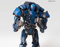 "Robot Boxer ""Rock-10"""