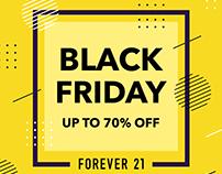 Forever21 Web Ads