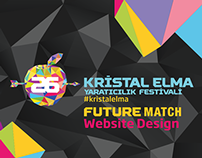Kristal Elma Festivali 2014 Future Match Website Design