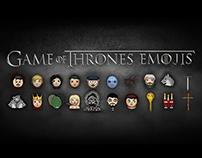 Game Of Thrones Emojis