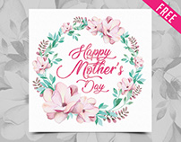 Free Happy Mother's Day Watercolor Cards