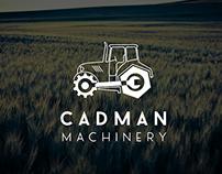 Cadman Machinery Logo Design