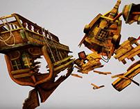 ShipWreck modular turnTable