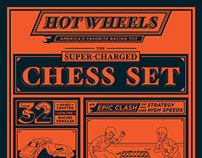 Hot Wheels Super Charged Chess Set