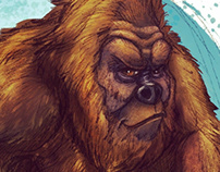 Bigfoot likes take out!