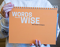 Words from the Wise | Calendar Redesign