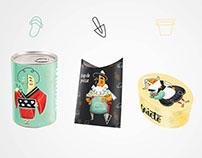 Packaging: La Pépinière Moderne