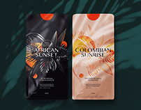 Soul Coffee Roasters: illustrated packaging