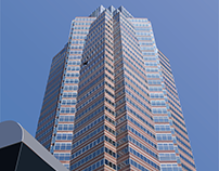 Nakatomi Plaza from Die hard Illustration (vector)