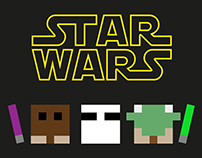 STAR WARS Pixel-Art