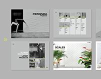 Digital catalogue for Peronda Projects