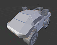 Space Tank 3D Models