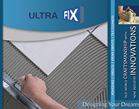 Brochure for Tile adhesive company