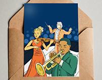 Orchestra Mailer Advertisement