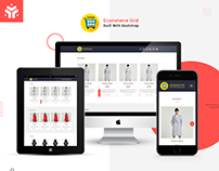 Ecommerce Grid is a Multipurpose Product Listing HTML W