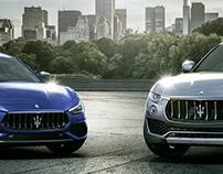 Maserati Family CGI Shot