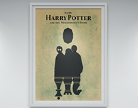 """Harry Potter and philosophers stone"" minimalist poster"