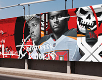 NFL Billboard concept design