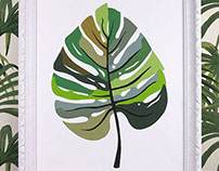 Decoart - Leaf Paint By Number
