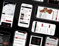 Black Bull - Steakhouse Web Site