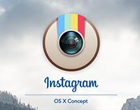 Instagram Mac OS X Concept 2015