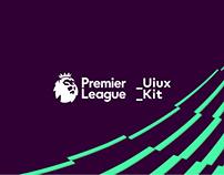 Premier League UiUX Kit Design