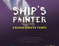 Ship's Painter Font