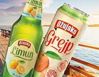 Ožujsko Beer mixes redesign