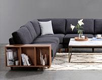 Merlin modular sofa system - VIVENSE