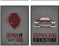 Stephen King Poster Series
