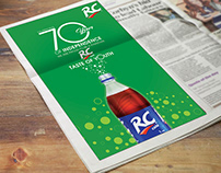 Rc Cola independence day ad
