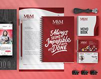 M&M Solution - Branding Setup & Corporate Identity