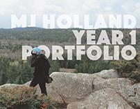 First Year Portfolio Book