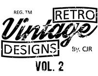 Retro Vintage Designs VOL. 2