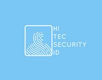 Hi Tec Security Id Logo Concept