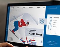 Ski Resort - UI Design Concept