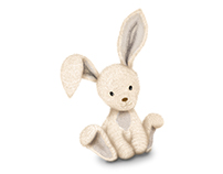Bunny and Lamb Illustrations