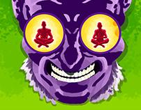 The Adventures of Kanji & Zen. Headspace comic strip.