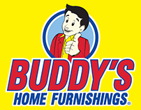 Buddies Home Furnishing Logo Design