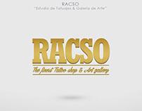 Logotipo para Racso Tattoo Shop