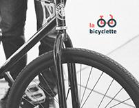 La bicyclette: Taller de bicicletas | Branding