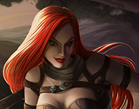 Katarina LOL contest
