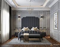 Neo Classic bedroom design ( Abou samra group )