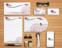 Identity Design for Travel agency Royal Falcon in Qatar