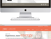 J. Walcher Communications Website