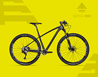 BERG CYCLES  - VERTEX SERIES 2017