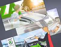 Storyboard ŠKODA plus